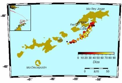 Una isla acelera su separación de la Antártida a 15 cm/año