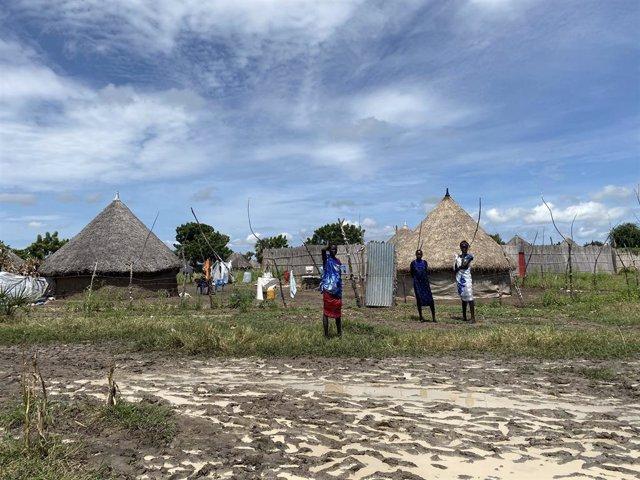 Afectados por las inundaciones en Sudán del Sur