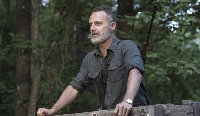 Andrew Lincoln es Rick Grimes en The Walking Dead