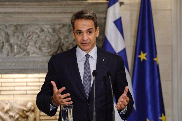 Kyriakos Mitsotakis.