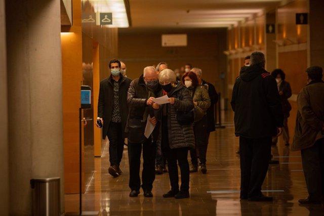 Concert 'Jordi Savall. Un Nadal a Versalles' a l'Auditori de Barcelona, Catalunya (Espanya), 14 de desembre del 2020.