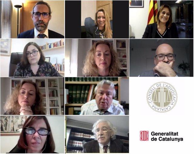 XI Jornada sobre l'ús del català en la Justícia, que ha organitzat la Comissió de Llengua del Cicac.