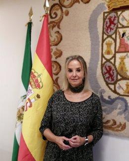 La fiscal superior de Andalucía, Ana Tárrago.