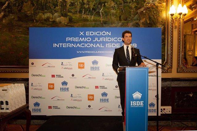 ISDE falló la duodécima edición del Premio Jurídico Internacional