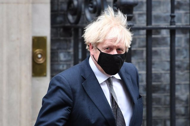 16 December 2020, England, London: UK Prime Minister Boris Johnson leaves 10 Downing Street to attend Prime Minister's Questions at the Houses of Commons. Photo: Stefan Rousseau/PA Wire/dpa