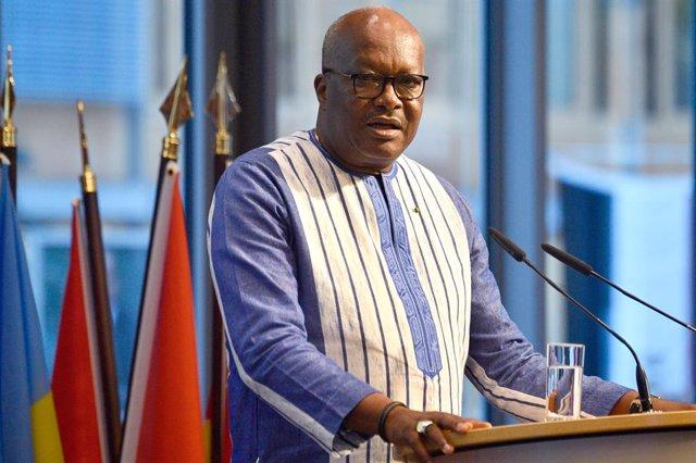 Roch Marc Christian Kaboré, presidente de Burkina Faso