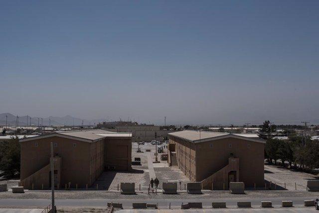 Imagen de archivo de la base aérea estadounidense de Bagram en Afganistán.