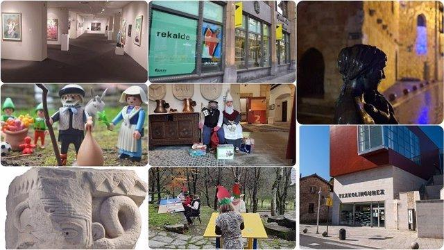 Museos y salas de la Diputación de Bizkaia