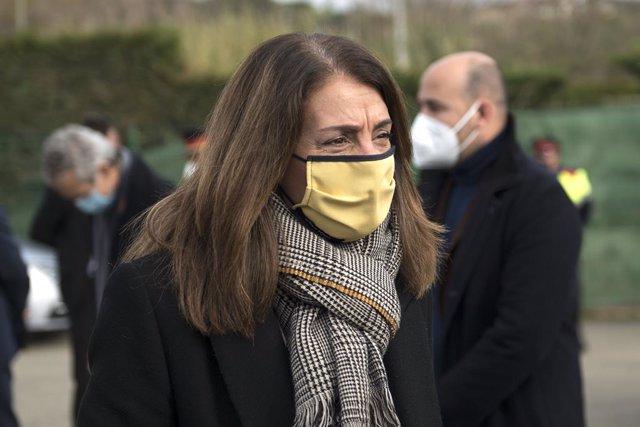 La consellera de Presidència i portaveu de la Generalitat, Meritxell Budó, 14 de desembre del 2020.