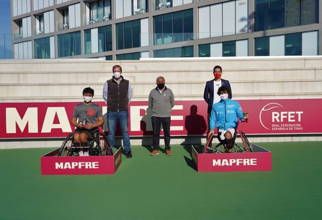 Daniel Caverzaschi suma su tercer título de campeón de España de tenis en silla de ruedas ante Francisco García