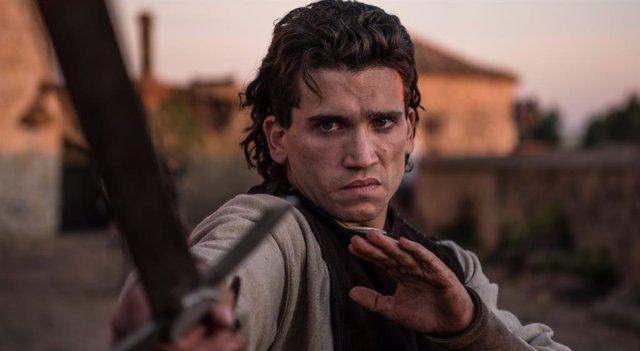 Jaime Lorente es El Cid en la seri ede Amazon