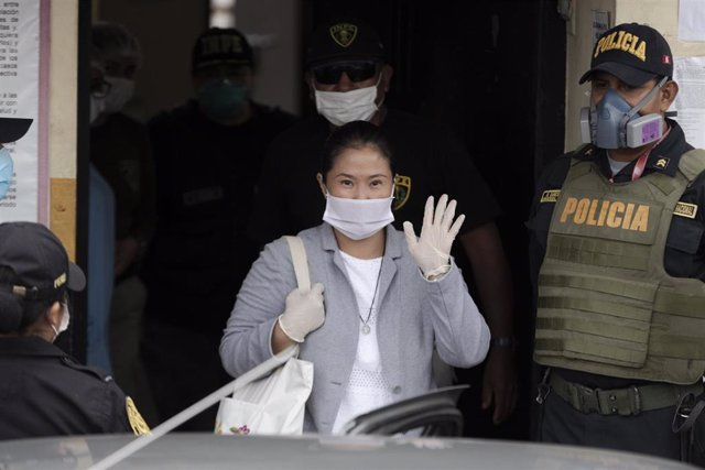 La líder de Fuerza Popular, Keiko Fujimori