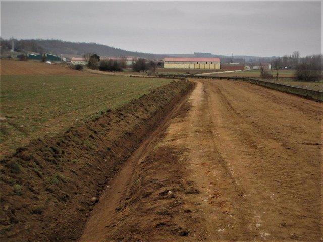 Imagen de un camino rural.