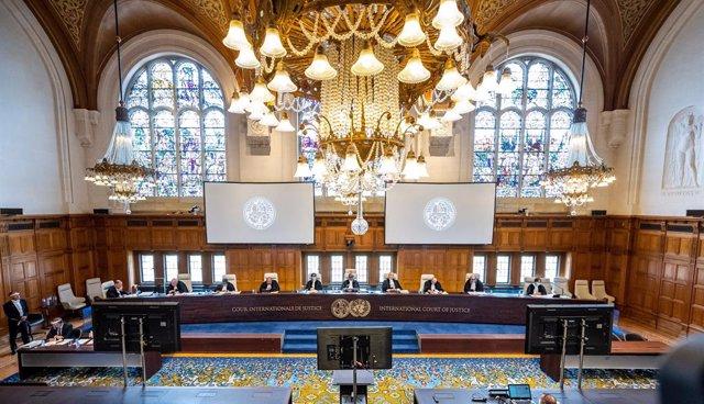 Tribunal sobre el contencioso de Esequibo que enfrenta a Guyana y Venezuela en la Corte Internacional de Justicia