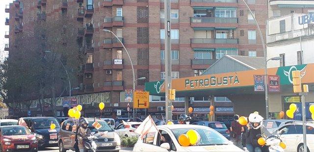 Marxa de 'Más plurales' en defensa de l'educació concertada i contra la ley Celáa a Barcelona.