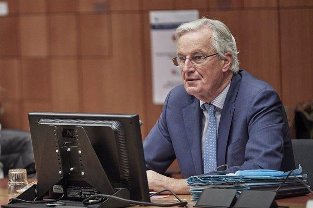 El negociador jefe de la Unión Europea para la relación futura con Reino Unido, Michel Barnier