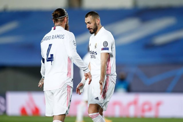 Karim Benzema y Sergio Ramos