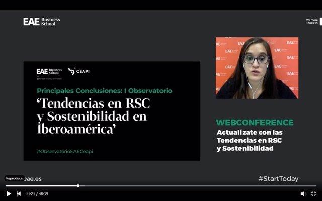 """I Oberservatorio """"Tendencias en RSC y Sostenibilidad en Iberoamérica"""