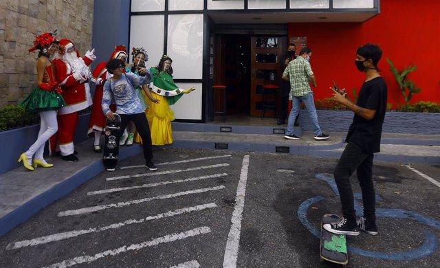 Preparativos de la Navidad en Valencia, Venezuela