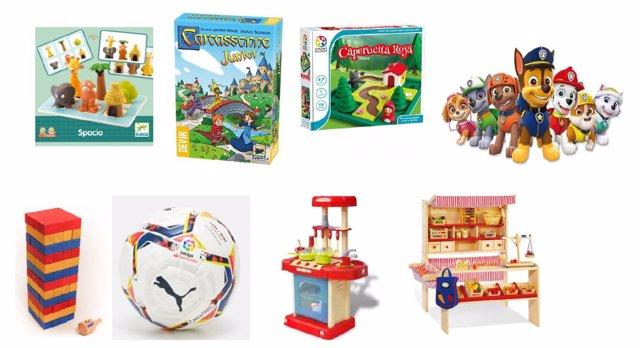 Juegos y juguetes para niños de 4 años