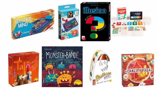 Juegos y juguetes para niños de 7 años y más