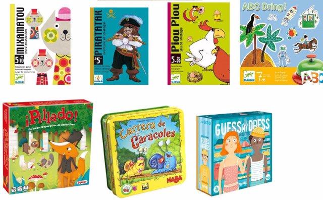 Juegos y juguetes para niños de 5 años