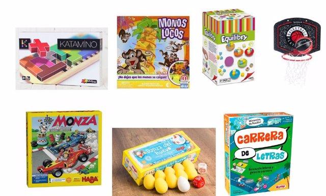 Juegos y juguetes para niños de más de 5 años