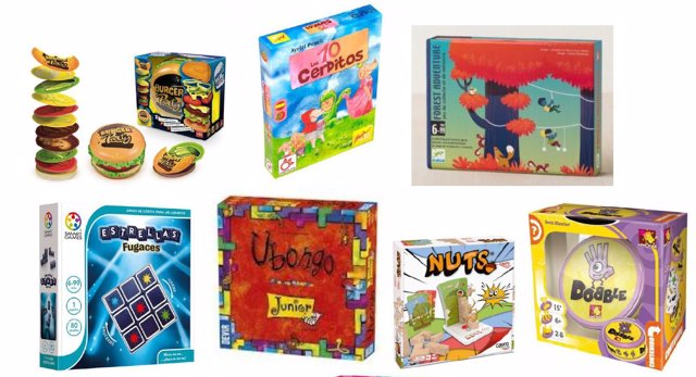 Juegos y juguetes a partir de 6 años