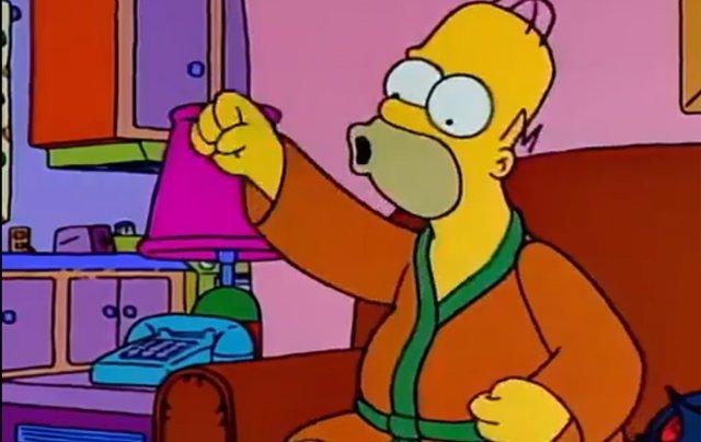 Homer en Los Simpson