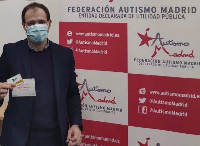 Luis Pradillos, director Federación Autismo Madrid