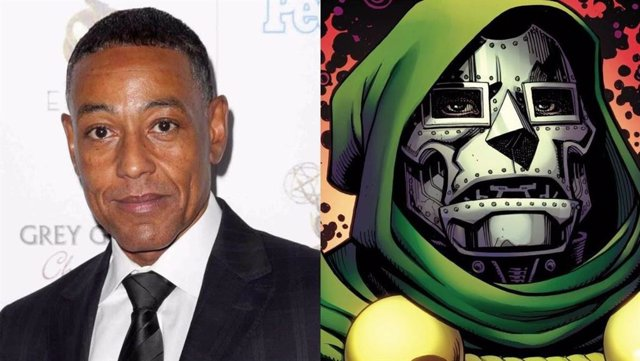 Giancarlo Esposito y Doctor Doom