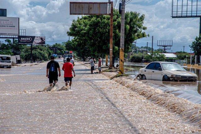 Efectos del huracán 'Iota' en Honduras