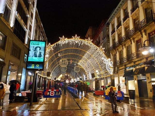 Navidad en Oviedo. Luces. Iluminación. Alumbrado.