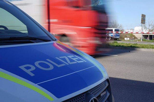 Un vehículo de la Policía de Dinamarca