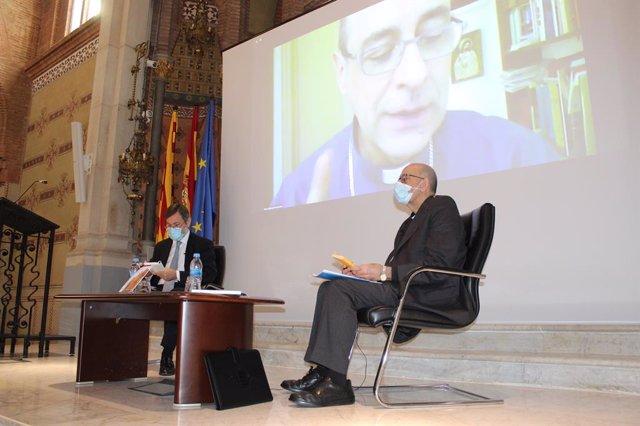 El cardenal Juan José Omella, en la presentación de la encíclica 'Fratelli Tutti' en la UAO CEU
