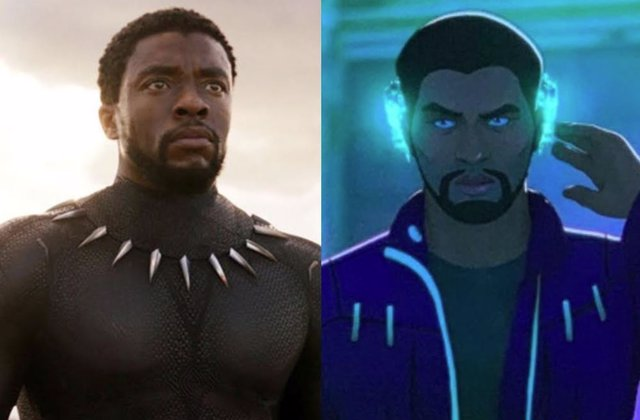 Montaje Con Escenas De 'Black Panther' Y 'Marvel's What If...?'