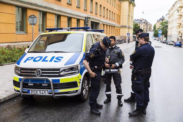 Policía en Suecia