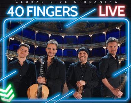 Llega 'Guitar Rhapsody', el concierto en streaming del fenómeno musical 40 Fingers