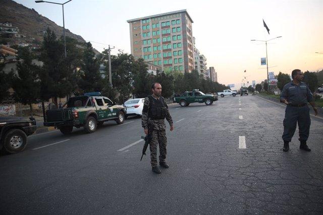 Imagen de archivo de la Policia afgana