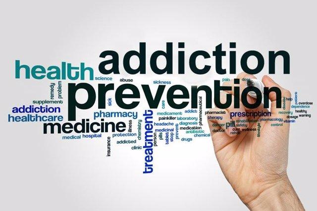Los miembros del Grupo de Acción de Rotary para la prevención de adicciones