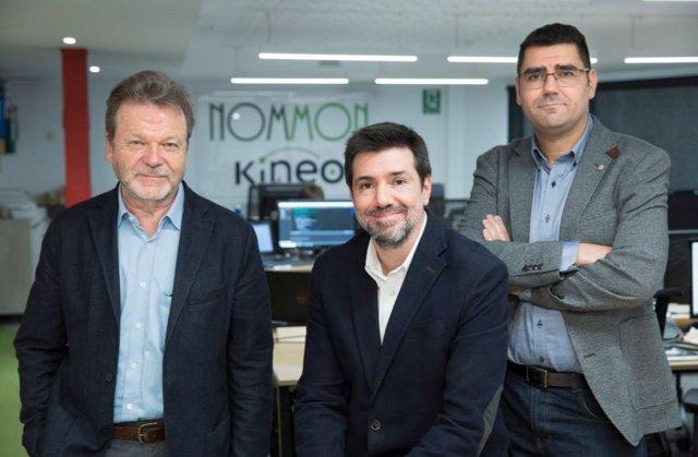 De izquierda a derecha: Luis (Pilo) Willumsen, miembro del comité de dirección y asesor senior; Manuel Álvarez, director de Operaciones; Y Ricardo Herranz, director general