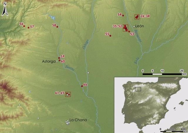 Presencia militar de Roma en León