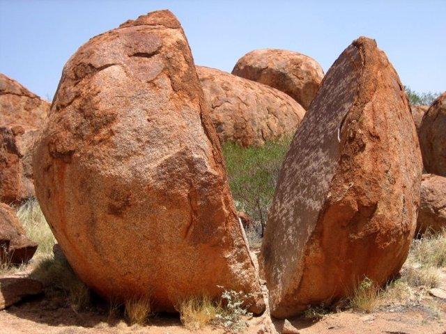 Meteorización de una roca