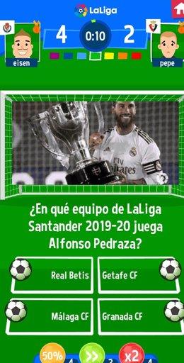 Nace 'Trivia LaLiga', el juego para comprobar el conocimiento de las aficiones sobre la Liga española