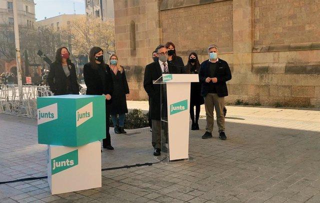 L'acte polític de Junts a Sabadell