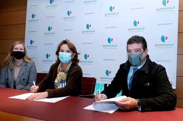 El Hospital Quirónsalud Sagrado Corazón y el Cuerpo Consular de Sevilla renuevan su convenio de colaboración