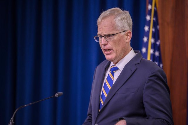 Christopher Miller, secretario de Defensa en funciones de Estados Unidos