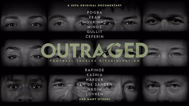 Cartel del documental 'Outraged'