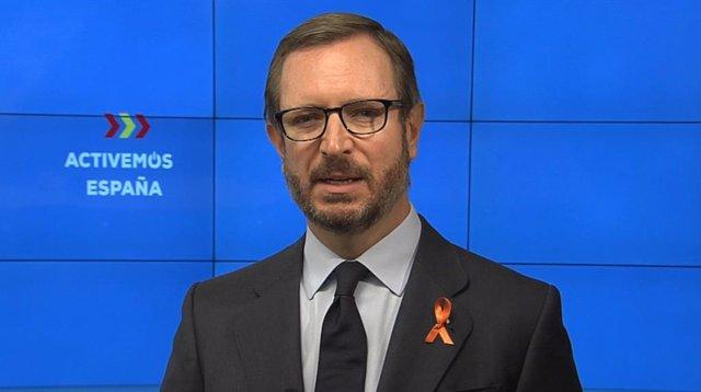 El portaveu del PP al Senat, Javier Maroto.