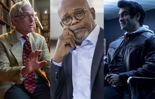 Los protagonistas del falso documental A la meirda el 2020
